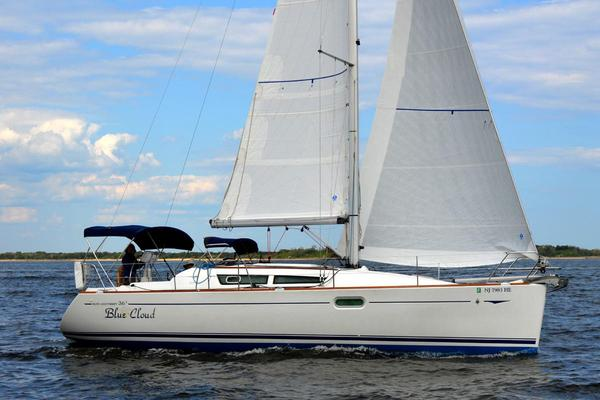 Used Jeanneau 36I Racer and Cruiser Sailboat For Sale