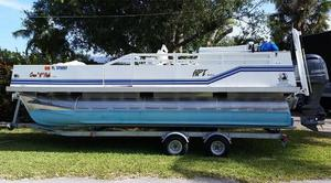 Used Trident 2080 Pontoon Boat For Sale