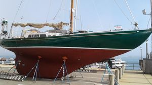 Used Frans Maas-Lefevre / Holland One Off Custom 47 (steel) Cruiser Sailboat For Sale