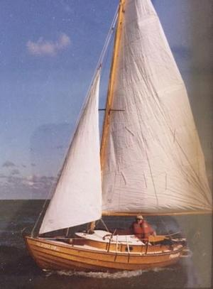 Used Faering Design 20 Daysailer Sailboat For Sale