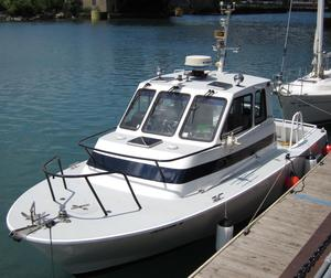 Used Boston Whaler Defiance Commercial Boat For Sale