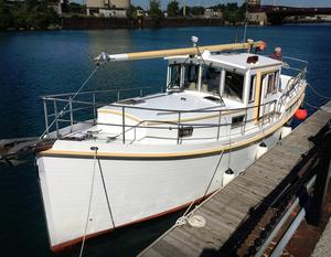 Used Diesel Duck 40 Cruiser Boat For Sale