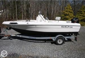 Used Sea Fox 187 CC Center Console Fishing Boat For Sale