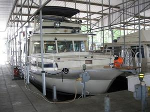 Used Pluckebaum 65 Coastal Yacht Houseboat House Boat For Sale