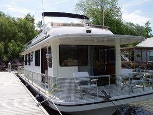 Used Gibson 44 Executive House Boat For Sale