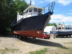 Used Coastal Marine Research Passenger Boat For Sale