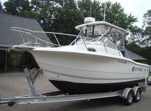 Used Sea Pro 235 Walk Around Cuddy Cabin Boat For Sale
