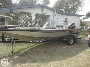 Used Tracker V-18 Tournament Bass Boat For Sale