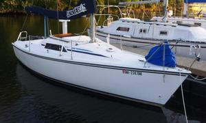 Used Hunter 23 Racer and Cruiser Sailboat For Sale