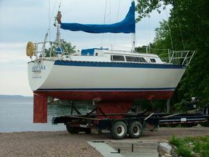 Used Caliber 28 Sloop Daysailer Sailboat For Sale