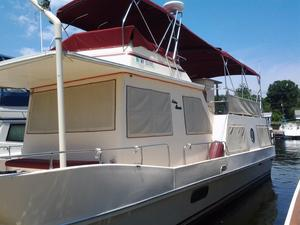 Used Holiday Mansion 38 Coastal Barracuda Aft Cabin Boat For Sale