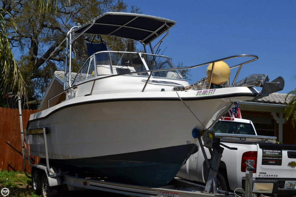 Used Quest 217 WA Walkaround Fishing Boat For Sale