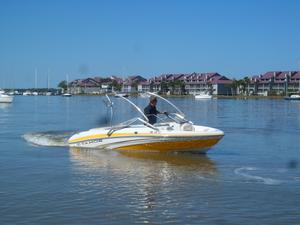 Used Tahoe Q5I Freshwater Fishing Boat For Sale