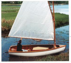 Used Peterborough Sailing Skiff Daysailer Sailboat For Sale