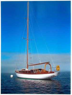 Used Classic 'O' Class Sloop Sailboat For Sale