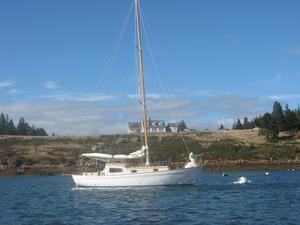 Used Laurent Giles Vertue 48 Sloop Sailboat For Sale