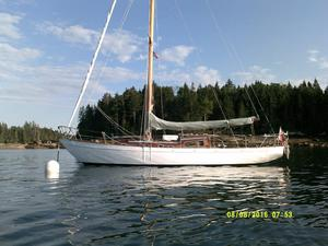Used Laurent Giles Brittany Class Cruiser Sailboat For Sale