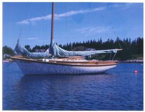 Used Herreshoff Golden Era Petrel Daysailer Sailboat For Sale