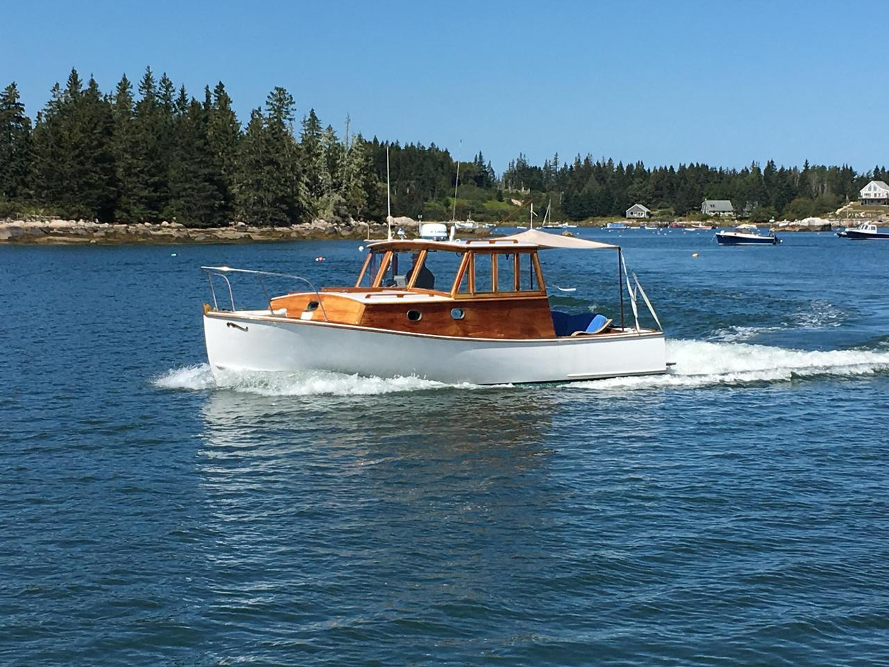 Used Classic Peter KASS Lobster Yacht Commercial Boat For Sale