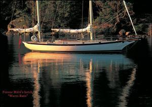 Used Bruce King Custom Bermudan Ketch Racer and Cruiser Sailboat For Sale