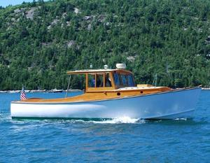 Used Gannon And Benjamin Downeast Cruiser Downeast Fishing Boat For Sale