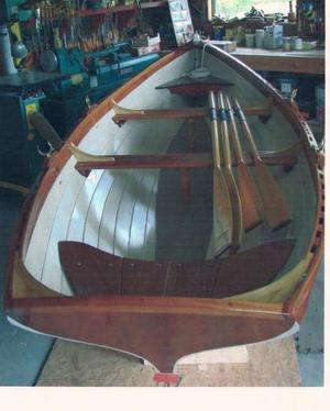 New Duck Trap Wherry Two Station Pulling Boat Tender Boat For Sale