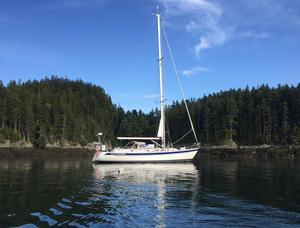 Used Hallberg-Rassy 46 Cruiser Sailboat For Sale