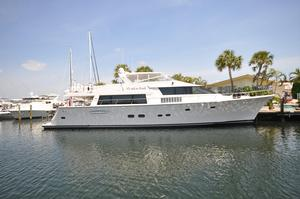 Used Pacific Mariner Flushdeck MY Motor Yacht For Sale