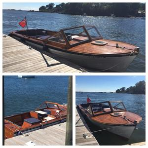 Used Lyman 25 Cruisette Antique and Classic Boat For Sale