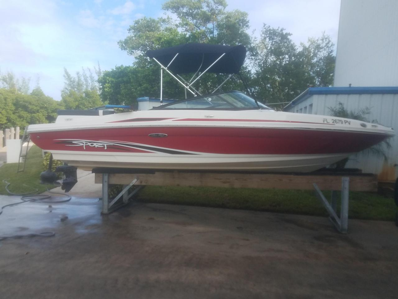 2013 21' Sea Ray 205 Sport For Sale