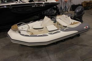 Used Avon Seasport 380 Deluxe NEO 50HP Rigid Sports Inflatable Boat For Sale