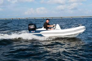 New Avon Seasport 380 Deluxe NEO 50HP IN Stock Rigid Sports Inflatable Boat For Sale
