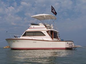Used Egg Harbor 36 Sport Fisher Cruiser Boat For Sale