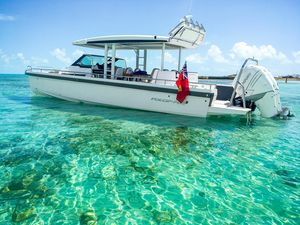 New Axopar 37 Sun Top Center Console Fishing Boat For Sale