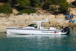 New Axopar 37 T-top Center Console Fishing Boat For Sale