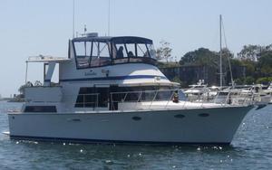 Used Lien Hwa 47 Aft Cabin Cockpit Motor Yacht Aft Cabin Boat For Sale