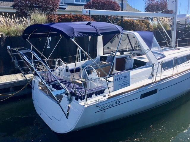 2019 New Beneteau Oceanis 45 Cruiser Sailboat For Sale 409 000