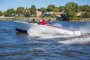 New Canadian Electric Boats Bruce 22 T Tender Boat For Sale