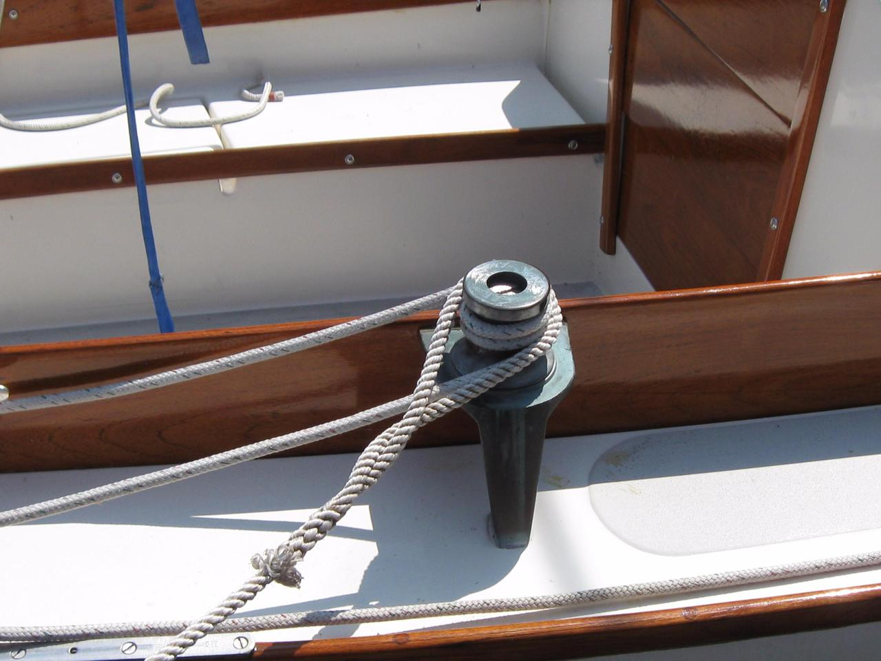 1971 Used Cape Dory Typhoon Weekender Daysailer Sailboat For