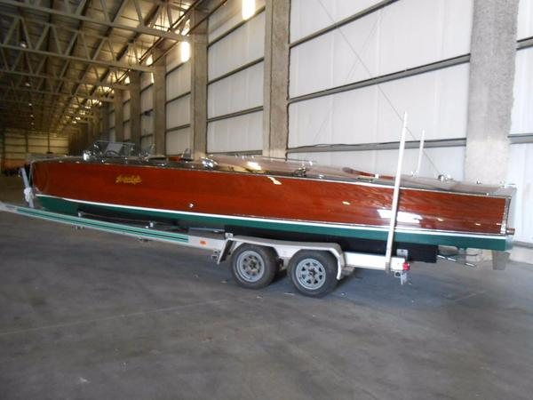 Used Hacker-Craft 30 Triple Cockpit Runabout Antique and Classic Boat For Sale