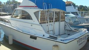 Used Allglass Flybridge Boat For Sale