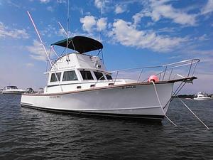 New Wilbur 34 Weekender Downeast Fishing Boat For Sale