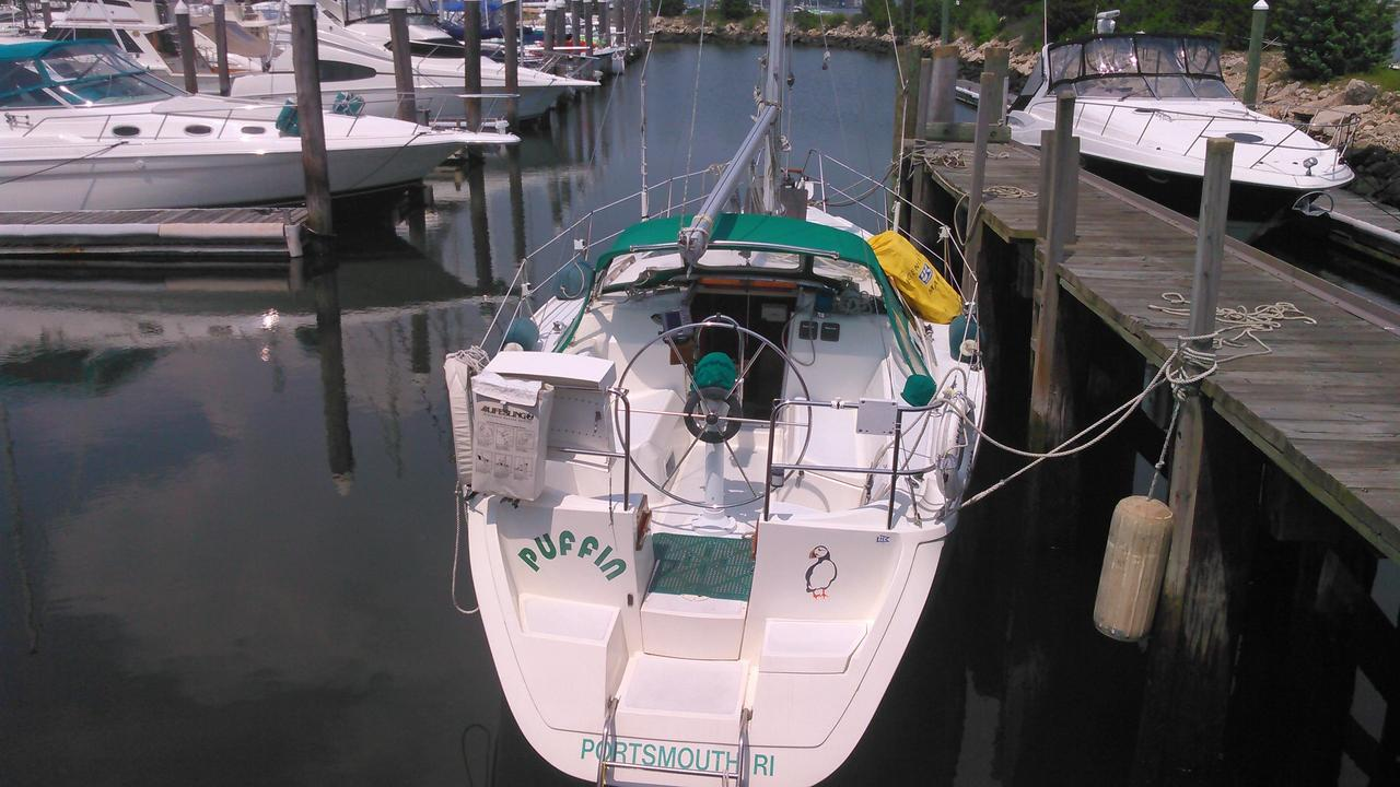 1990 Used Hunter 33 5 Sloop Sailboat For Sale - $32,995