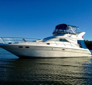 Used Sea Ray 400 Sedan Bridge Cruiser Boat For Sale