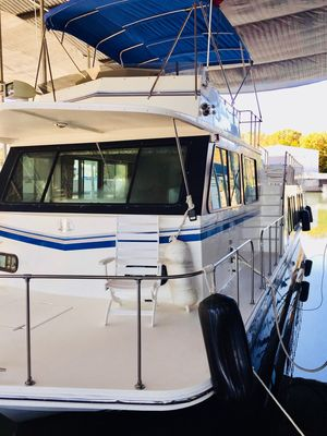 Used Harbor Master 520 WB Pilothouse House Boat For Sale