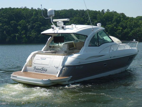 Used Cruisers Yachts 420 Sports Coupe Express Cruiser Boat For Sale