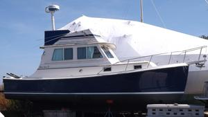 Used Blue Seas 31 Flybridge Downeast Fishing Boat For Sale