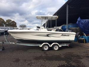 Used Angler 220 Center Console Center Console Fishing Boat For Sale