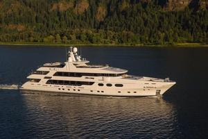 Used Christensen 50 Meters Mega Yacht For Sale