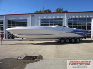 Used Black Thunder 43 High Performance Boat For Sale